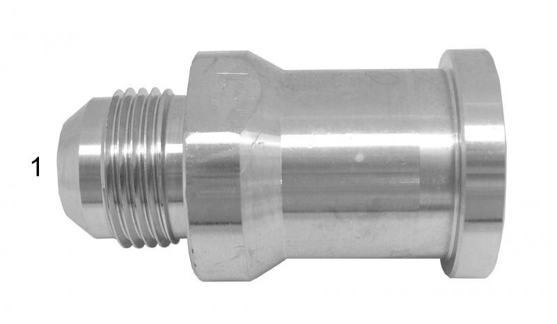 Flange Adapters -  - Male JIC to O-Ring Flange -  360