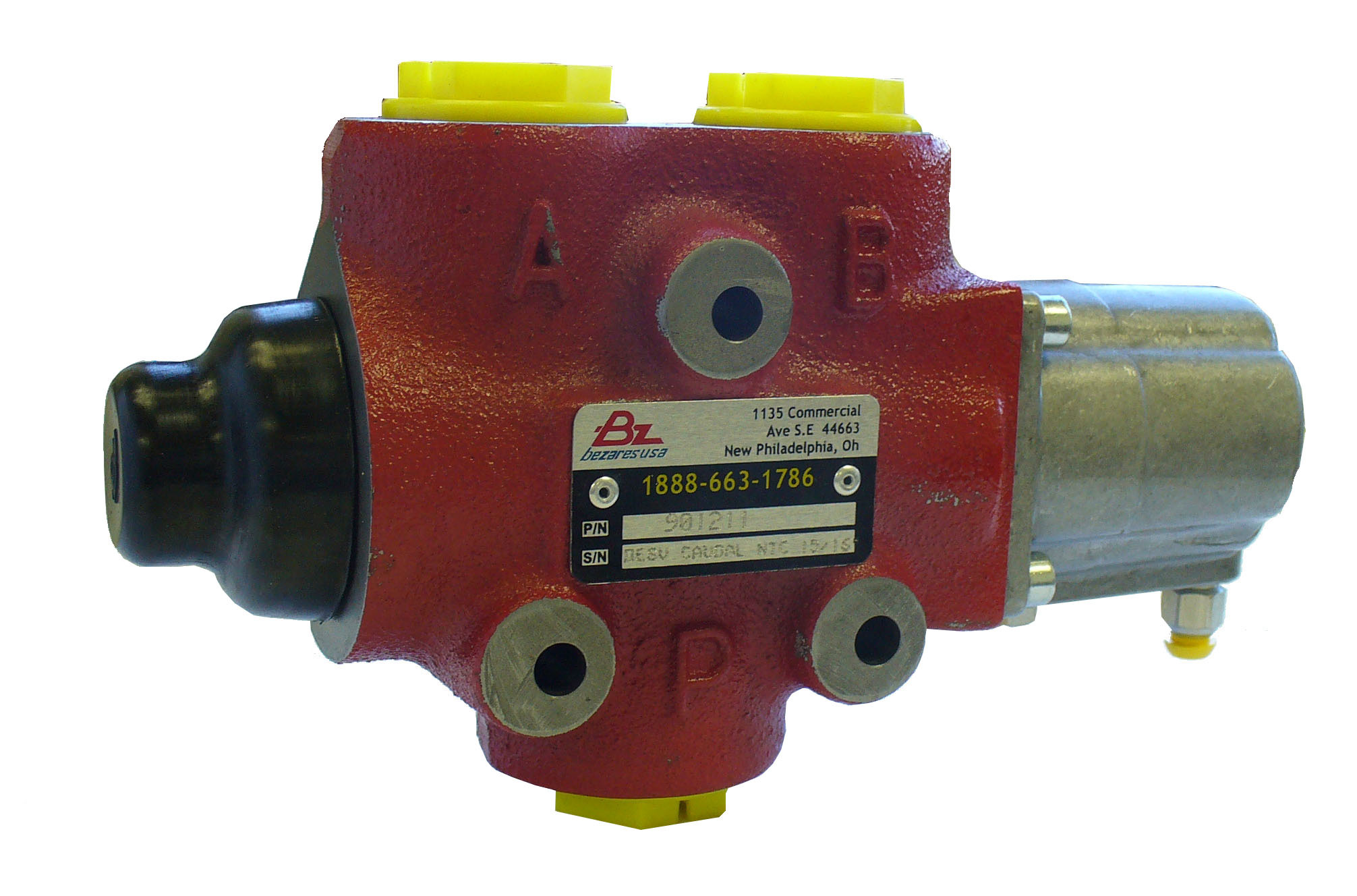 3 Way Pneumatic Diverter Valve - Bezares - Bezares 3 Way Pneumatic Diverter Valve