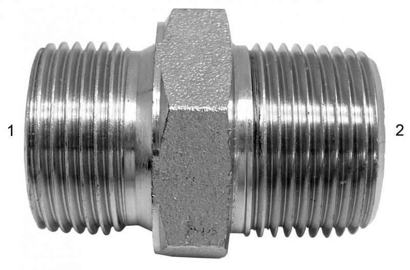 Metric Adapters -  - Male BSPP to Male NPT