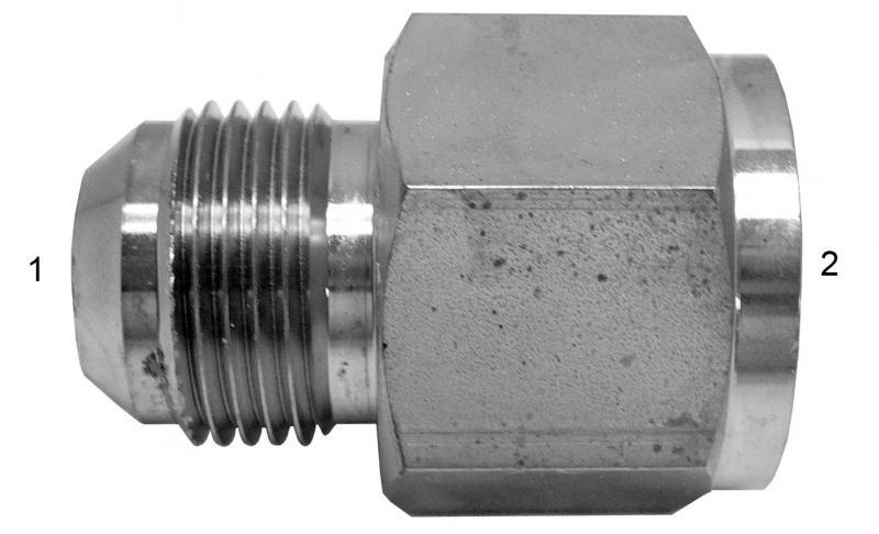 Metric Adapters -  - Male JIC to Female BSPP
