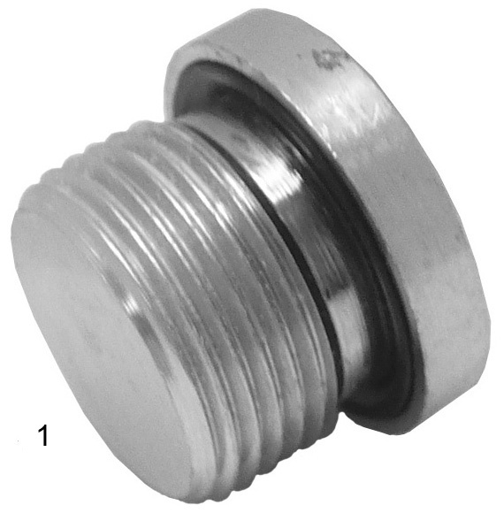 Metric Adapters -  - Metric Countersunk Sealed Plug