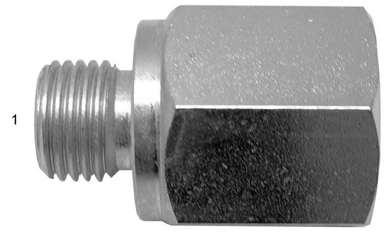 Metric Adapters -  - Male BSPP to Female NPT