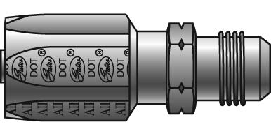 Reusable Couplings - Gates - Male SAE (45° Flare) for C5 Hose