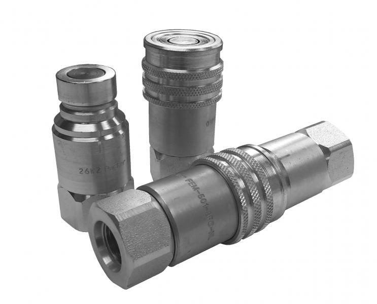 Quick Disconnect Couplers - Pioneer - Dry Disconnect Couplings - FEM Series