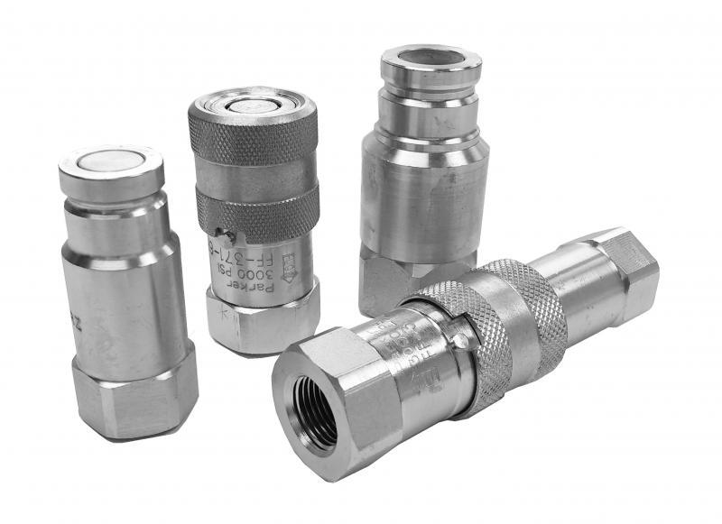 Quick Disconnect Couplers - Parker - Dry Disconnect Couplings - FF Series