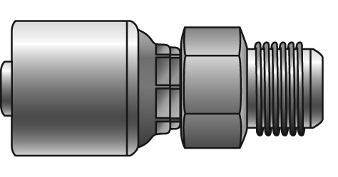 1 Pc. G Style Couplings - Gates - Male SAE (45° Flare)