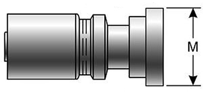GL Couplings - Gates - Code 61 O-Ring Flange - GL