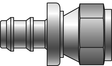 Lock-On Couplings - Gates - Female JIC 37° Flare Swivel