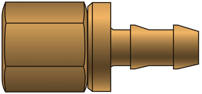 Lock-On Couplings - Gates - Female Pipe - 30° Cone Seat