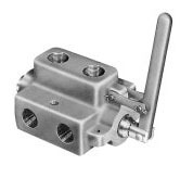 Double Selector Valves -  - Model DS - 2-Position Double Selector Valve