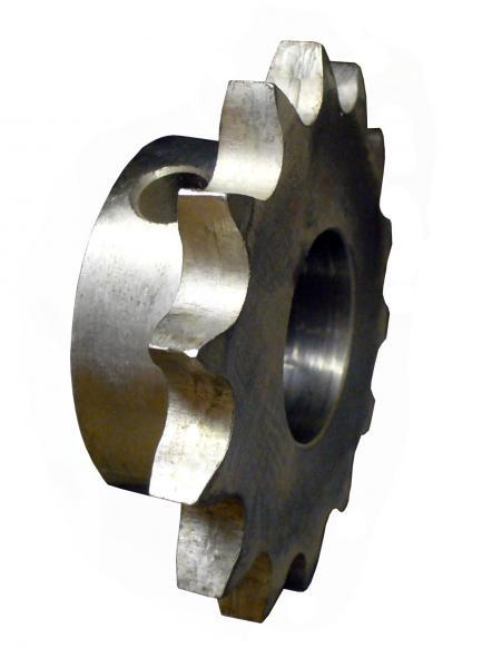 "One Piece Plain Bore - G & G - Roller Chain Sprockets - No. 35 Chain Type ""B"""
