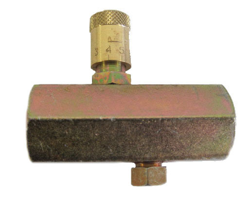 Flow Controls -  - MF Series Flow Control Valves